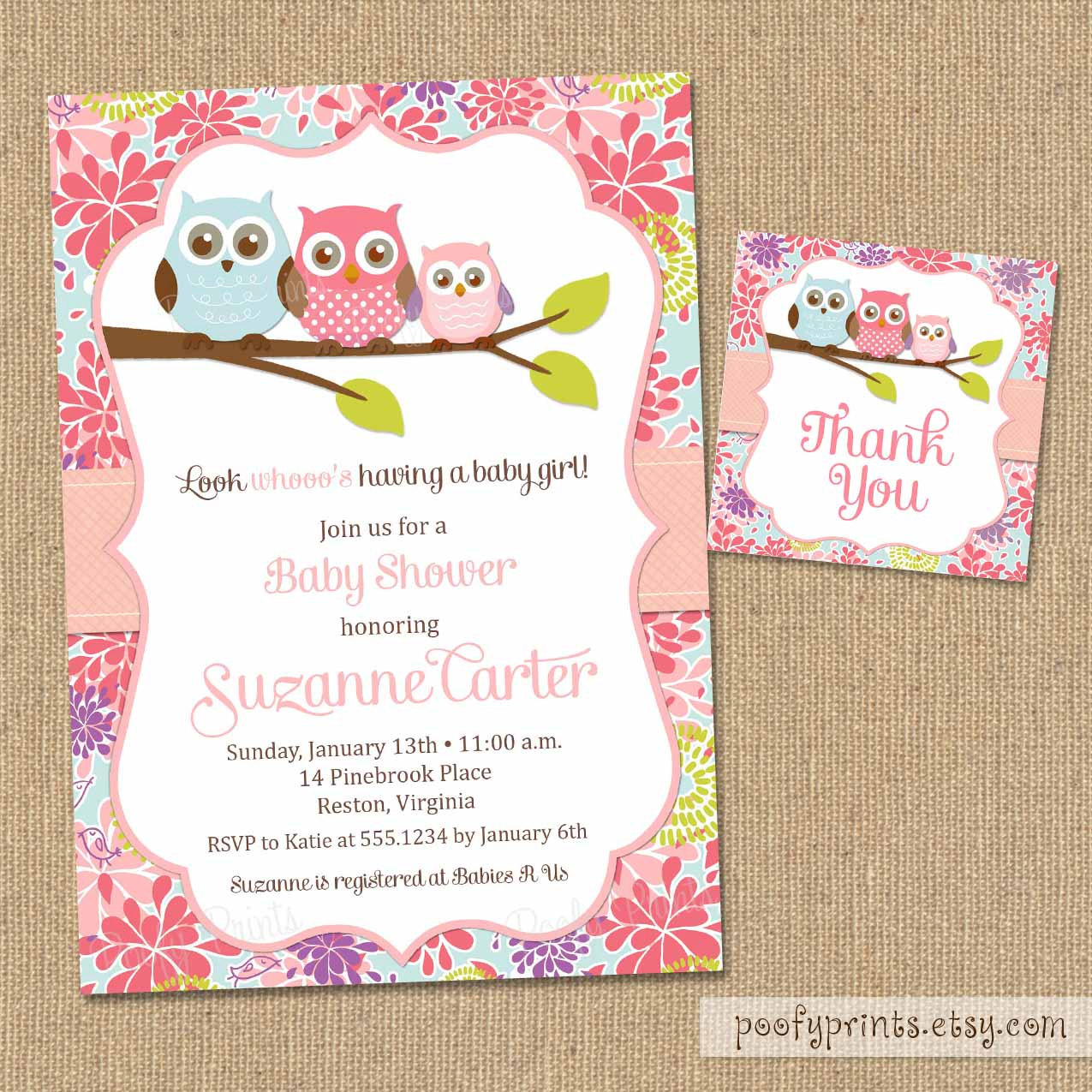 Baby shower invitations dc print baby shower invitations filmwisefo